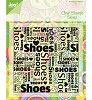 26692 Joy Crafts  Stempel Shoes (6410/0028).