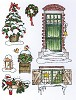 30012 Marianne D Stempel Don & Daisy Theme Winter time - DDS3344. - 30012