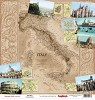 30804 Scrapberrys Double- Sided Paper Discover Italy Collection Guide Book.