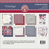 30960 Ruby Rock It Vintedge Collection Paper Pack 12x12.