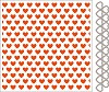 32057 Marianne Design Embossing folder + die Hearts (DF3413).