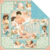 32264 Graphic 45 Precious Memories Coll. 2-Sided Cardstock 12