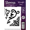 33062 Sheena Individual EZMount stamps - Wrought Iron 8,5 x7 cm.