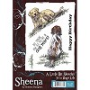 33124 A Little Bit Sketchy Stamp A6 Set - It`s a Dog`s Life by Sheena Douglass Unmounted.