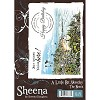 34200 A Little Bit Sketchy Stamp A6 Set Unmounted - The Beach by Sheena Douglass.