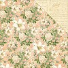 34265 Graphic 45 Gilded Lilly Double Sided Paper 30,5x30,5 cm Creme De La Creme (4501127).