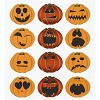 34807 Fancy Stickers Vel 15x16,5 cm Halloween Pompoen.