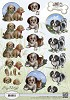 34839 (1207) Amy Design - Animal Medley - Puppies (CD10536).
