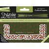 36401 Crafter`s Companion Die`sire Create a Card Metal Die - Fairy Lights Rectangle Overlay. - 36401