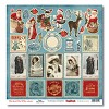 36765 Scrapberry Enkelz. Papier 30,5x30,5 cm That Special Time of the Year Santa. - 36765