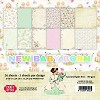 37123 Craft & You New Baby Born Small Paperpad 15,2x15,2 cm.