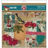 37138 Joyeux Noel Double-Sided Paper Pack 12