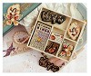 39150 Prima Tales Of You & Me Laser-Cut Wood Icons In A Box 24 Stuks.