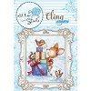 40242 Wild Rose Studio`s A7 Clingstamp Bluebell Behind Presents. - 40242
