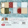 40443 Craft & You Design WHITE CHRISTMAS Small Paper Pad 6x6