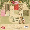 40445 Craft & You Design CHRISTMAS STORY Small Paper Pad 6x6