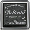 42322 Delicata Small Inkpad Silvery Shimmer.