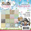 42398 Yvonne Creations Todds and Toddlers Paper Pad 15x15 cm..