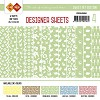 44792 Card Deco - Designer Sheets -Sweet Pet- Meigroen.