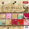 45464 DCWV Paperstack Ciao Bella 12x12 Inch 48 Pages.