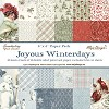 45673 Joyous Winterdays - Paper Pack 6 x 6 paper - 2 each of 18 assorted designs..