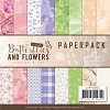 45967 Paperpack - Jeanine`s Art Classic Butterflies and Flowers (JAPP10003).