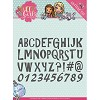 46084 Die - Yvonne Creations - Sweet Girls - Lovely Alphabet (YCD10121).