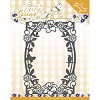 46226 Dies - Precious Marieke - Early Spring - Spring Flowers Rectangle Frame (PM10111). - 46226