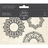 50391 American Crafts Kelly Creates Acrylic Traceable Stamps Mandala.