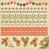 50718 Kaisercraft Merry & Bright Cardstock Stickers 12