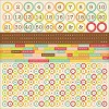 51329 Kaisercraft Save The Date Cardstock Stickers 12