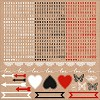 51330 Kaisercraft Mix & Match Cardstock Stickers 12