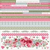 51332 Kaisercraft High Tea Cardstock Stickers 12