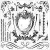 51351 Prima Iron Orchid Designs Decor Clear Stamps 30,5x30,5 cm Signage II (815387).