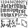 51352 Prima Iron Orchid Designs Decor Clear Stamps 30,5x30,5 cm Alpha II (815417).