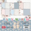 51825 Craft and You Design Baby World Small Paper Pad 6x6