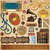 16680 Weekend Market Adhesive Chipboard 30,5 x 30,5 cm.