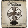 17187 Tim Holtz Alterations Bigz Die Vintage Fan. - 17187