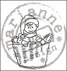 18229 Tiny`s Clear Stamps Basket (TC0828).