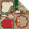 19356 Bo Bunny Rejoice 2-Sided Cardstock The Season.