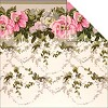 19768 Camilla Double-Sided Cardstock Floral Border. - 19768