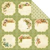 21484 Graphic 45 Secret Garden 2-Sided Paper Meadow Lark (4500656).