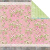21670 Bo Bunny Prairie Chic 2-Sided Paper Rambling Rose.