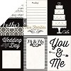 22463 Echo Park You & Me 2-Sided Paper Wedding Day.