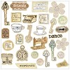 22624 Prima Lifetime Collection Chipboard Stickers.