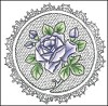 25996 Cling Stamp Roses (TC0830). - 25996