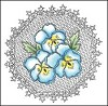 25998 Cling Stamp Pansies (TC0832). - 25998