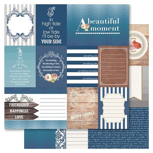 32708 Bella! Something Blue Double-Sided Paper 12