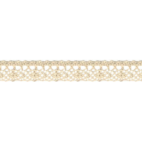 33106 Hanging Cluny Lace Naturel 2,5 cm x 1 Meter.