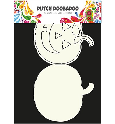 34594  Dutch Card Art Pumpkin A4.